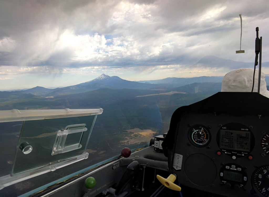 110 knots indicated airspeed, and this was during a slow part...